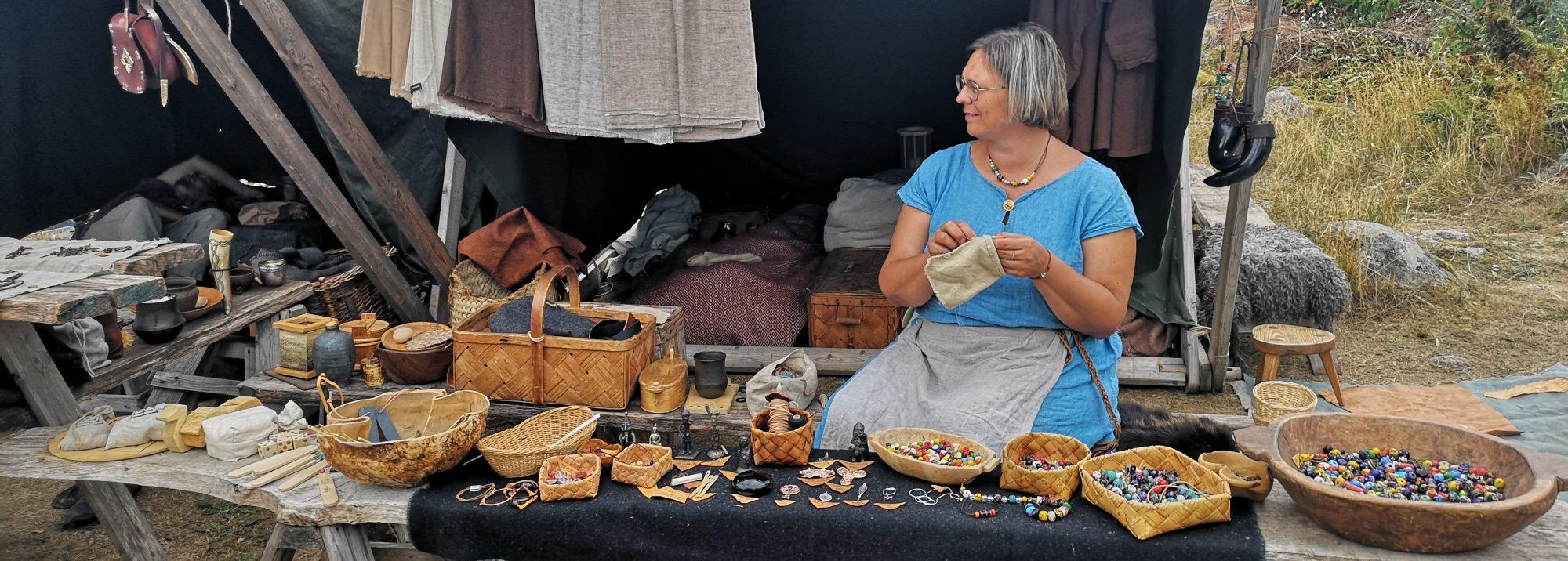 Linda Wåhlander – med forntiden runt knuten